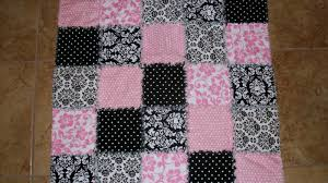how to make a baby rag quilt how to make a quilt