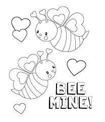 smartness design valentine color pages printable best free