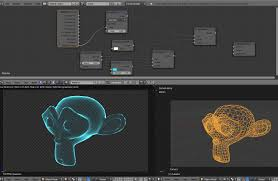 tutorial for blender 2 74 how to render a mesh transparent with a color on its edges only