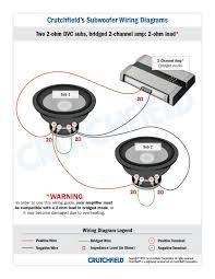 wiring diagram subwoofer wiring wiring diagrams instruction