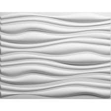Off White Walls by Shop Threedwall 31 4 In X 2 05 Ft Embossed Off White Bamboo