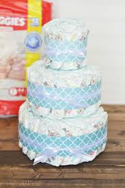 diper cake easy cake time gift the happy scraps