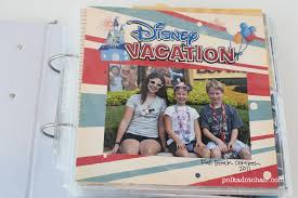 vacation photo albums diy disney vacation album ideas a simple album