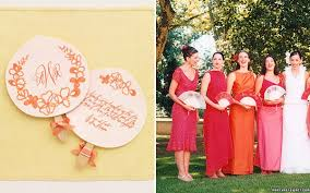 paper fans for weddings summer fans charlottesville weddings