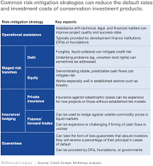 taking conservation finance to scale mckinsey u0026 company