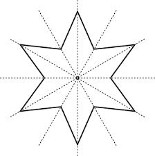5 point star tattoo designs