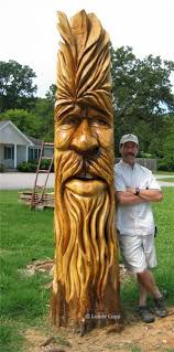 large wood carvings tree trunks large woodcarvings woodspirits lundy cupp