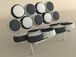 Herman Miller Marshmallow Sofa 3d Nelson Marshmallow Sofa Cgtrader