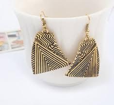 earrings malaysia irregular shape copper earrings malaysia
