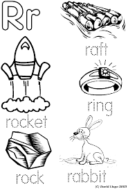 letter r coloring page letter r coloring pages draw a line to the