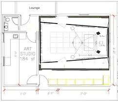 Studio Plan Art Studio Plans X Modern Shed Build From Icreatables Plans