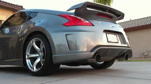 nissan 370z for sale cheap nissan 370z nismo exhaust youtube
