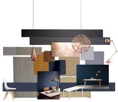 Bedroom Wall Materials Refined And Understated Elegance Material Palette Includes Copper