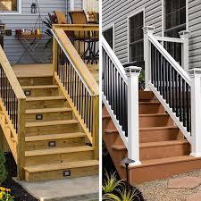 Trex Lighting Deck Amusing Lowes Trex Decking Composite Decking Prices Trek
