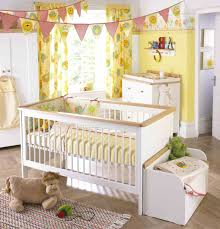 Yellow Curtains Nursery Room Shared Vibrant Yellow Bedroom Ba Nursery Curtain Design