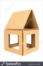 picture of cardboard house