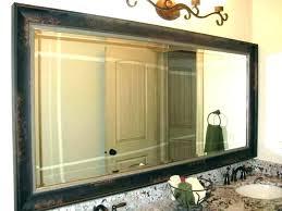Frame A Bathroom Mirror With Molding Framing Bathroom Mirror With Molding Framing A Bathroom Mirror