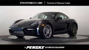 porsche cayman black new inventory in santa clara california