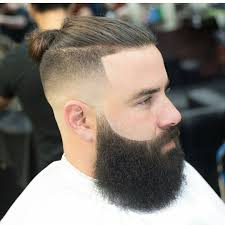 2017 man bun bun hairtsyles hair styles with beard beard with