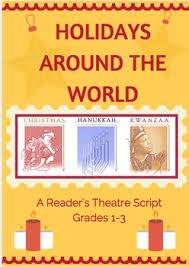 grade reader s theatre scripts bundled holidays