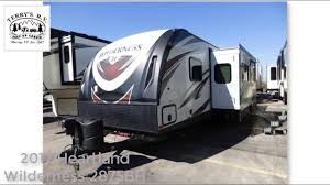 2017 heartland wilderness 2875bh for sale at terry u0027s rv youtube