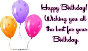 Happy Birthday Wish You All The Best In Happy Birthday Wishing You All The Best For Your Birthday Nicewishes