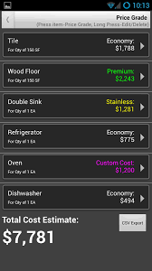 diy remodel cost calculator android apps on google play