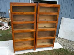 furniture glass bookshelves with barrister bookcase