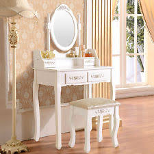 Bathroom Vanity With Makeup Table by White Vanities And Makeup Tables Ebay