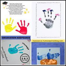 graduation keepsakes handprint graduation end of the school year ideas handprint