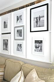 Gallery Wall Frames by Gallery Wall Built In Picture Frame Ledge