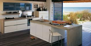japanese kitchen cabinets kitchen room wood floor tough concrete countertop modern