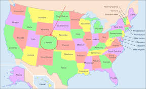 map us states colorado 3d map of united states state colorado stock photo image 21350710