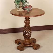 Pedestal Accent Table Accent Tables Touch Of Class