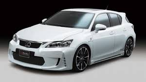 lexus ct200h body kit wald international tunes the lexus ct200h