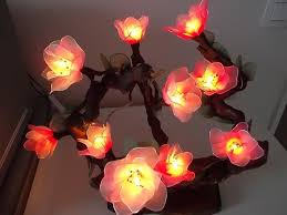 how to make flower with led lights