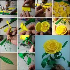 Handmade Flowers Paper - 111 best paper etc flowers images on pinterest fabric flowers