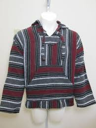 Mexican Rug Sweater Threaded Hoodie On The Hunt