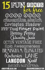 15 fun free fonts bloggingedumacation a night owl blog