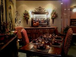 Tuscan Dining Room Tables The Augmentation Of A Wood Prime And Molding To The Fireplace The