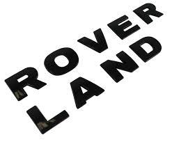 holden logo vector gloss black bonnet lettering land rover for discovery 3 4 lr3 hood