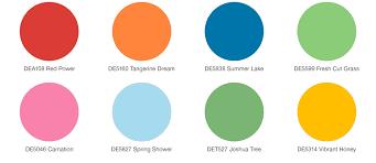 trending color palettes spring forward 2018 trending color palettes