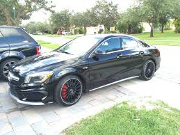 mercedes cla45 amg for sale 2014 black mercedes cla45 amg pictures mods upgrades