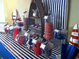 Chocolate Candy Buffet Ideas by Nautical Theme Candy Buffet I Created For A 40th Birthday Party
