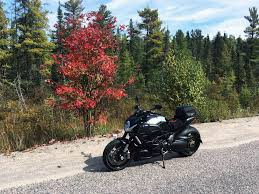 fall colours algonquin park motorcycle route northern