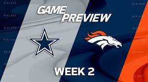 Flag Of Denver Dallas Cowboys Vs Denver Broncos Week 2 Game Preview Move The