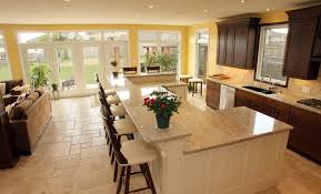kitchen breakfast bar ideas bar stools in kitchen traditional with pictures of