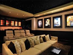 Theatre Room Decor Home Theatre Room Decorating Ideas Of Simple Basement Home