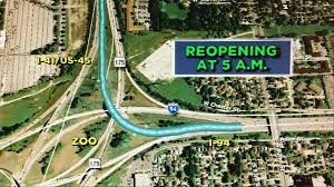 major system ramp opens this morning at zoo interchange