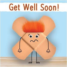 get well soon cards fluff plasters get well soon card 3 25 a great range of fluff